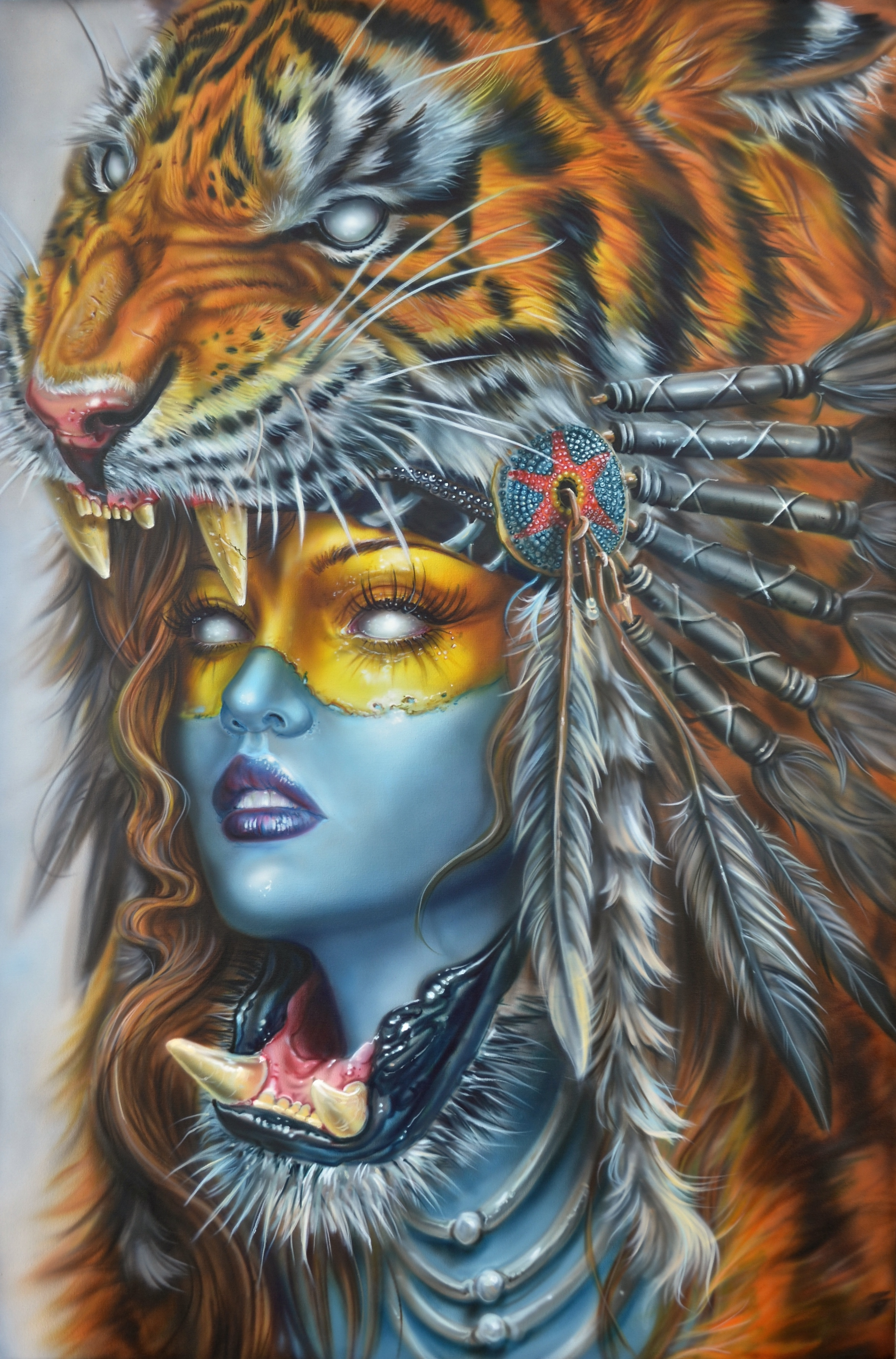 Tiger Huntress