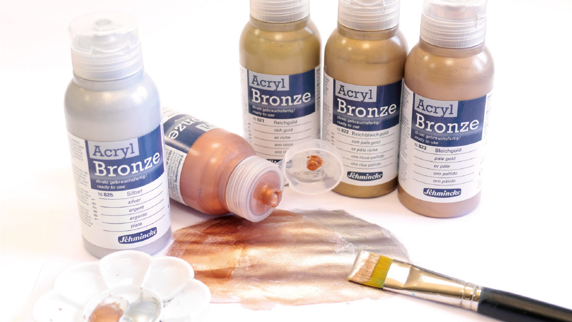 Schmincke Bronzing Paints: For Refining Motifs