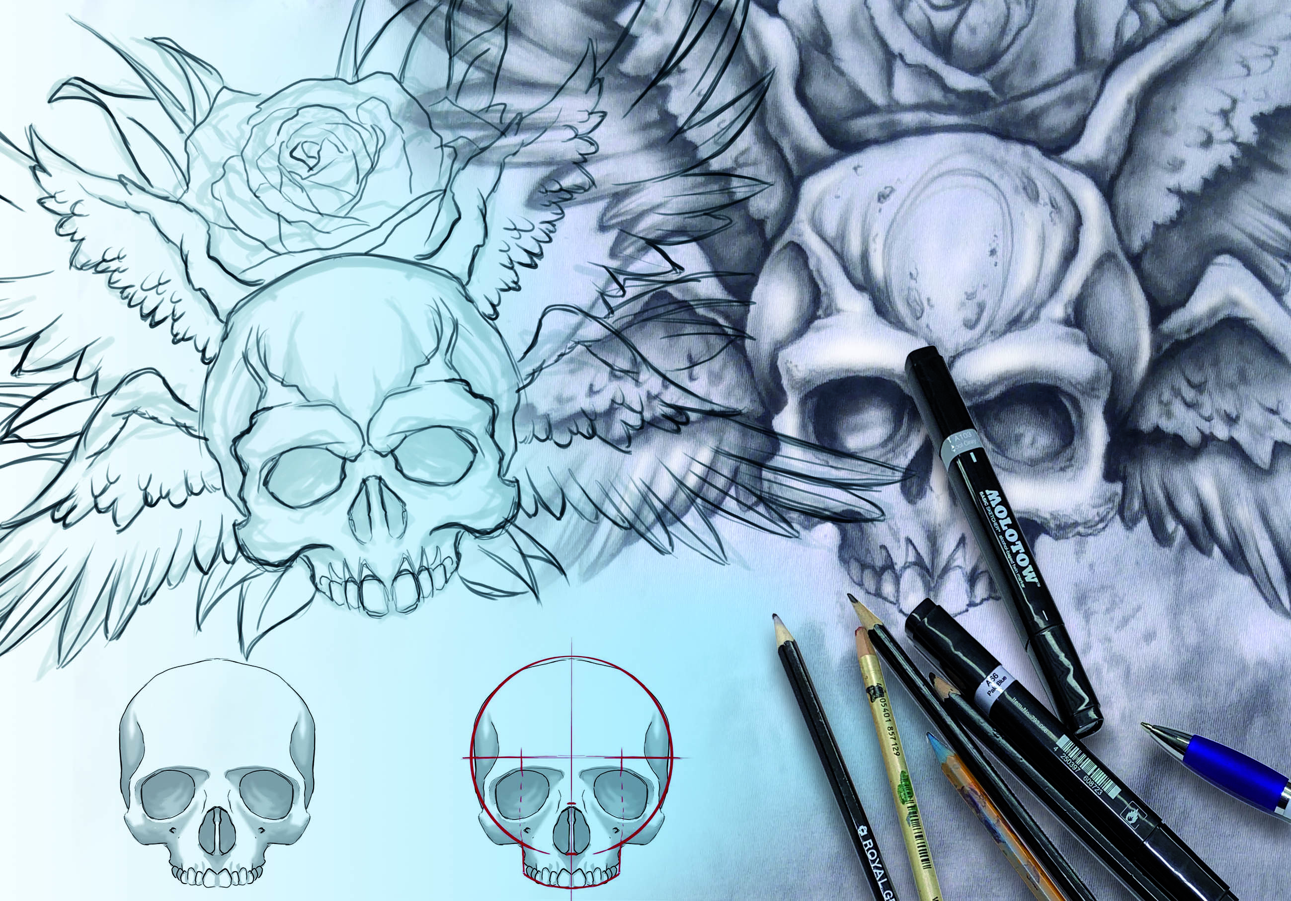 Drawing for Airbrush Artists