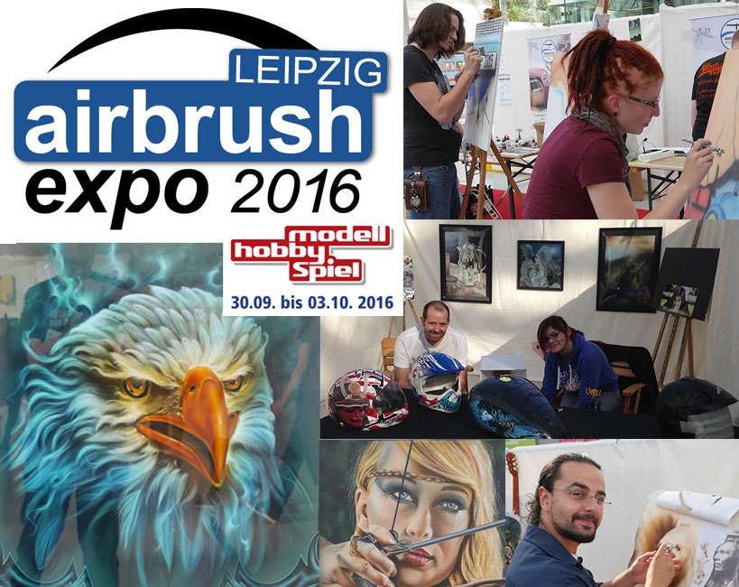 Call for artists: Airbrush Expo Leipzig 2016
