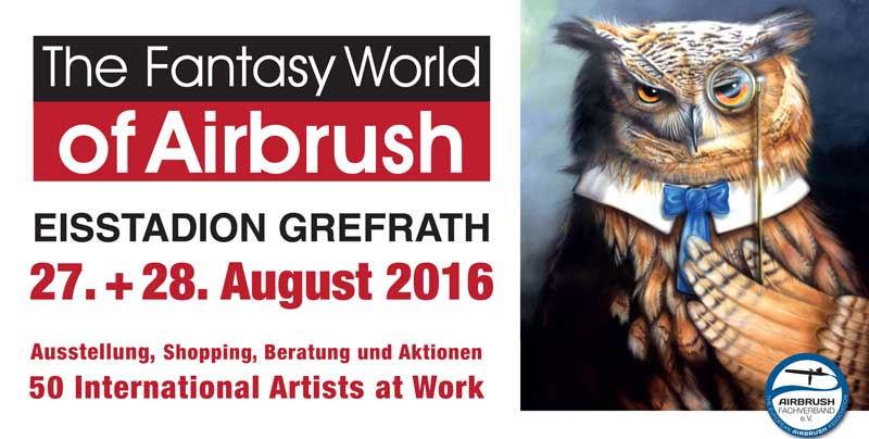 The Fantasy World of Airbrush: Germany's Airbrush Summer Event