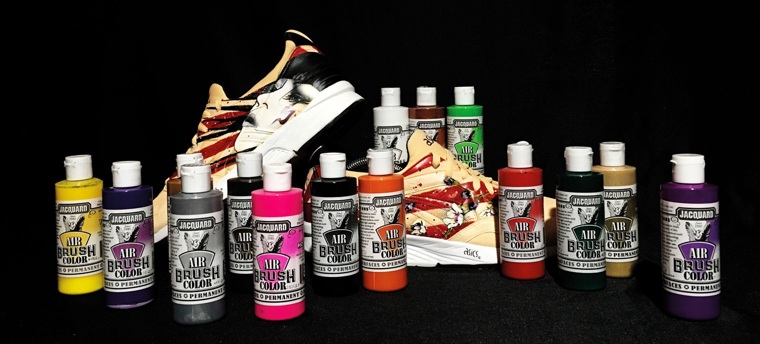 Win an airbrush color set by Jaquard!