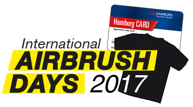 Special tickets for the International Airbrush Days 2017