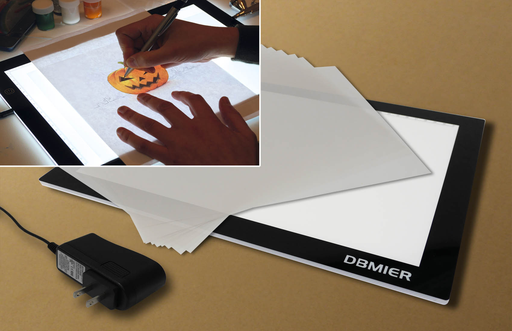 Affordable and light: Dbmier Light Pad with LED technology