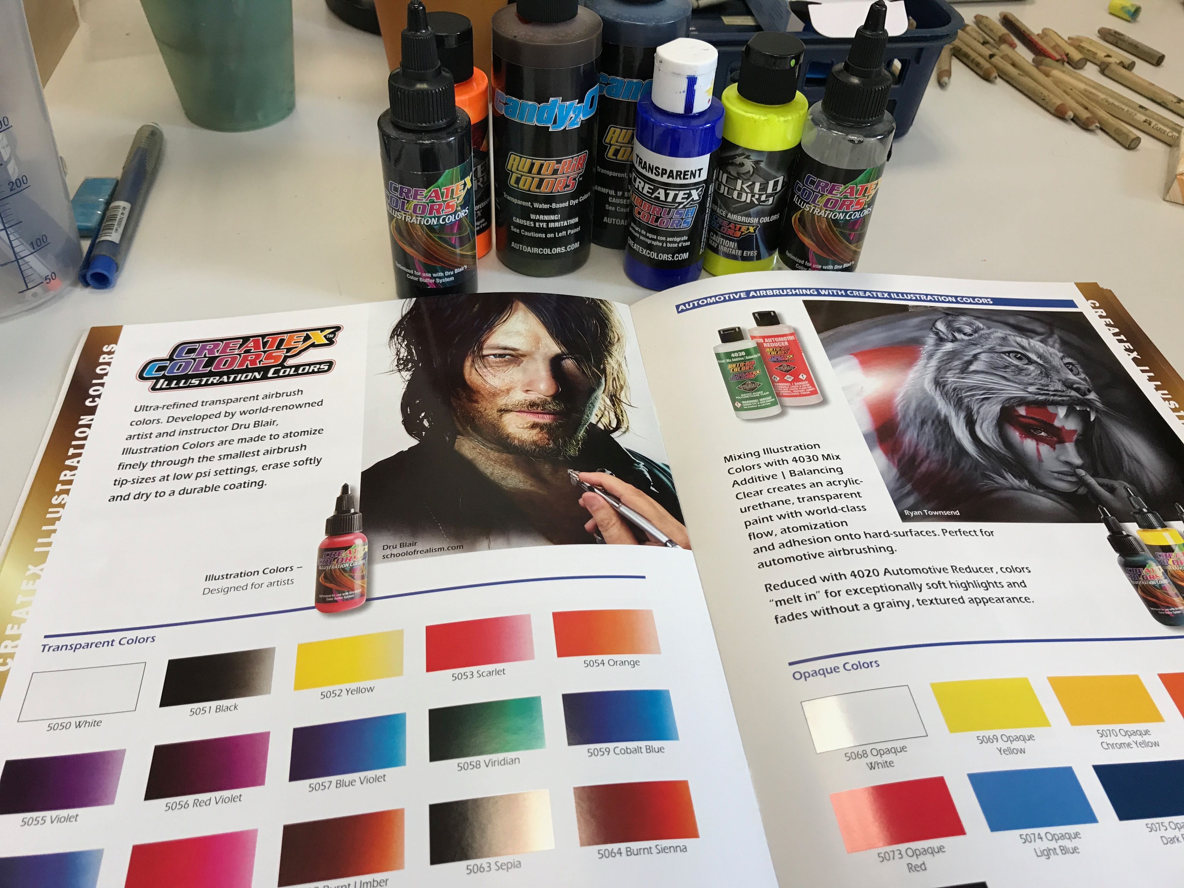 More than just advertisement: New Color Catalog from Createx