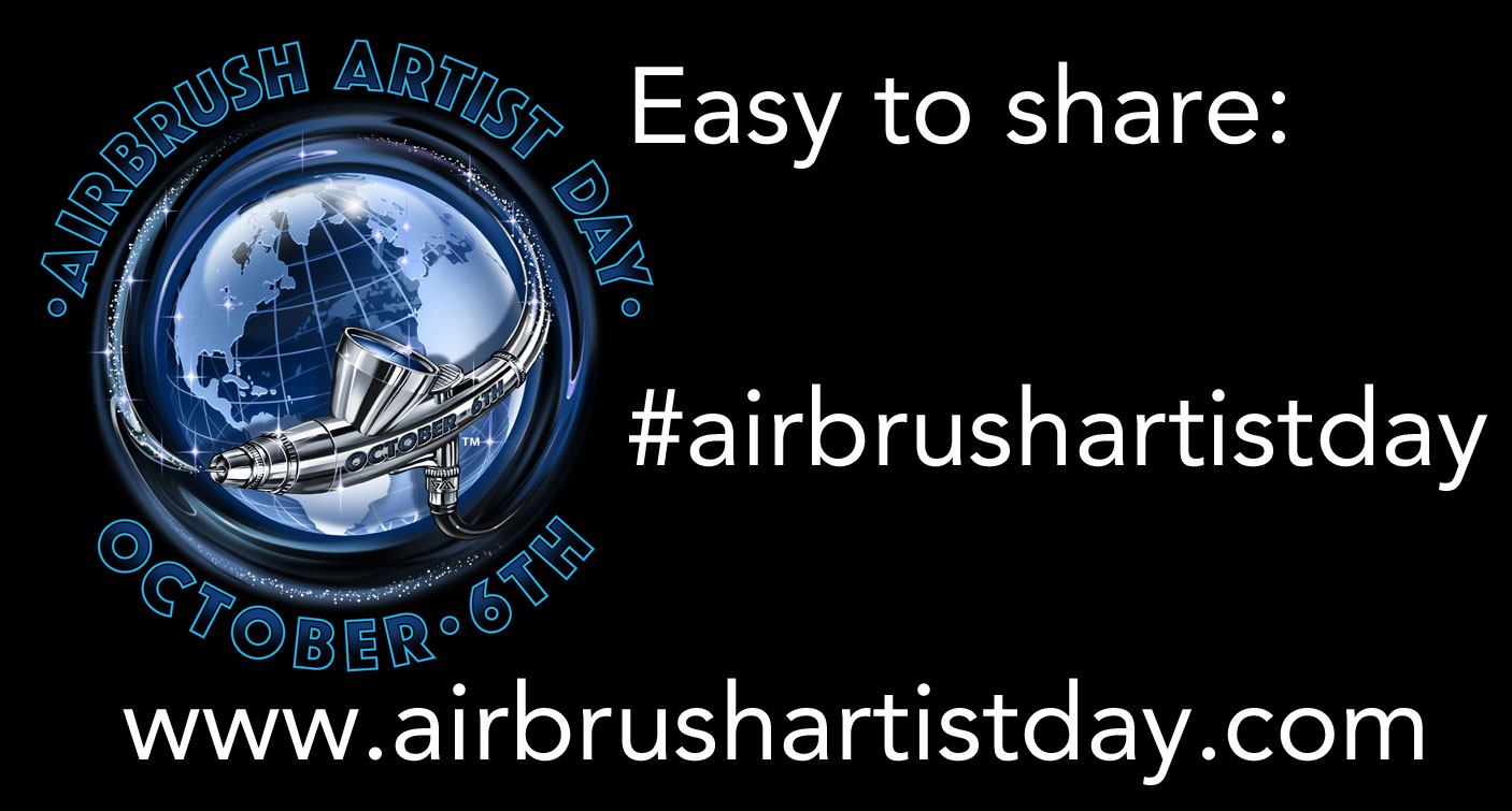 Airbrush Step by Step magazine supports the Airbrush Artist Day