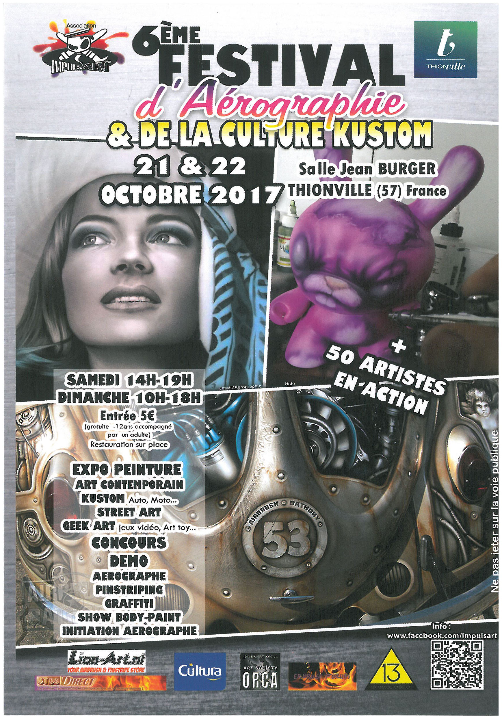 6th Airbrush Festival in Thionville, France