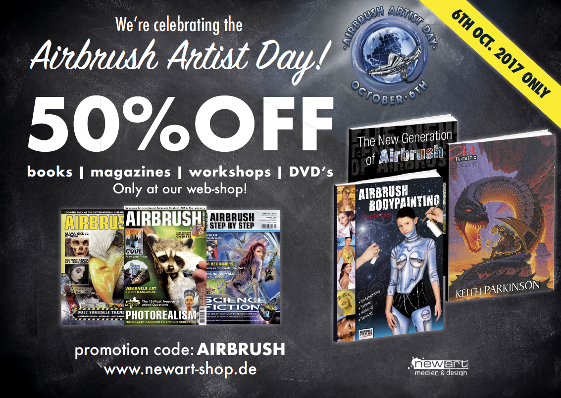 Our gift for the Airbrush Artist Day!