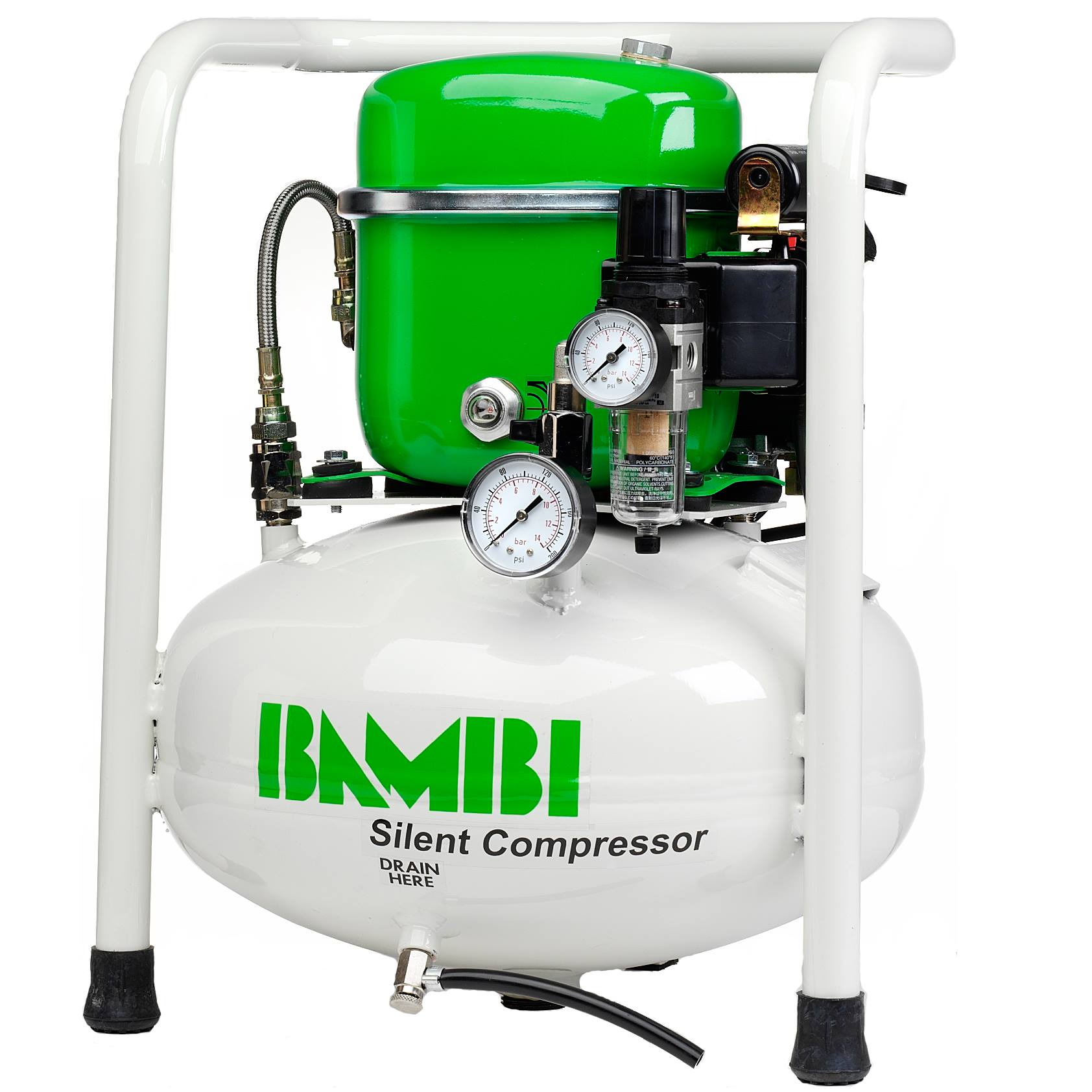 Green Rambos: Compressors from Bambi