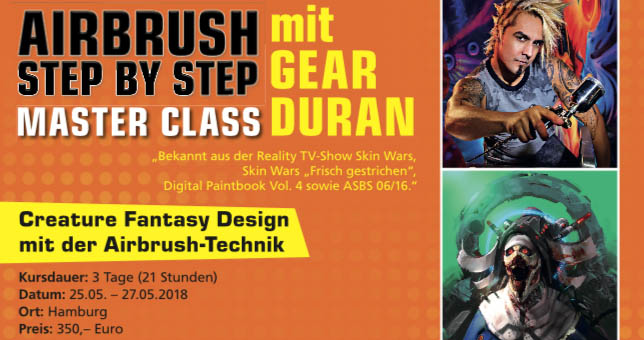 Creature Fantasy Design with Gear Duran