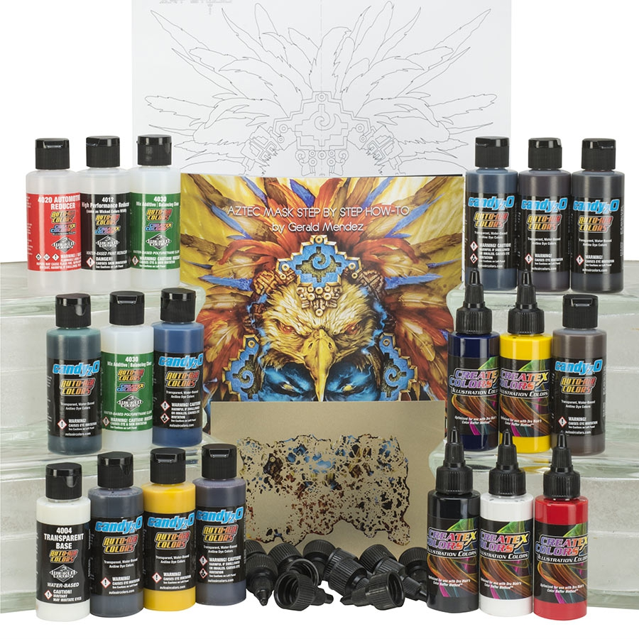 Airbrushing like pros: Createx Paint Sets from Gerald Mendez and Cory St. Clair