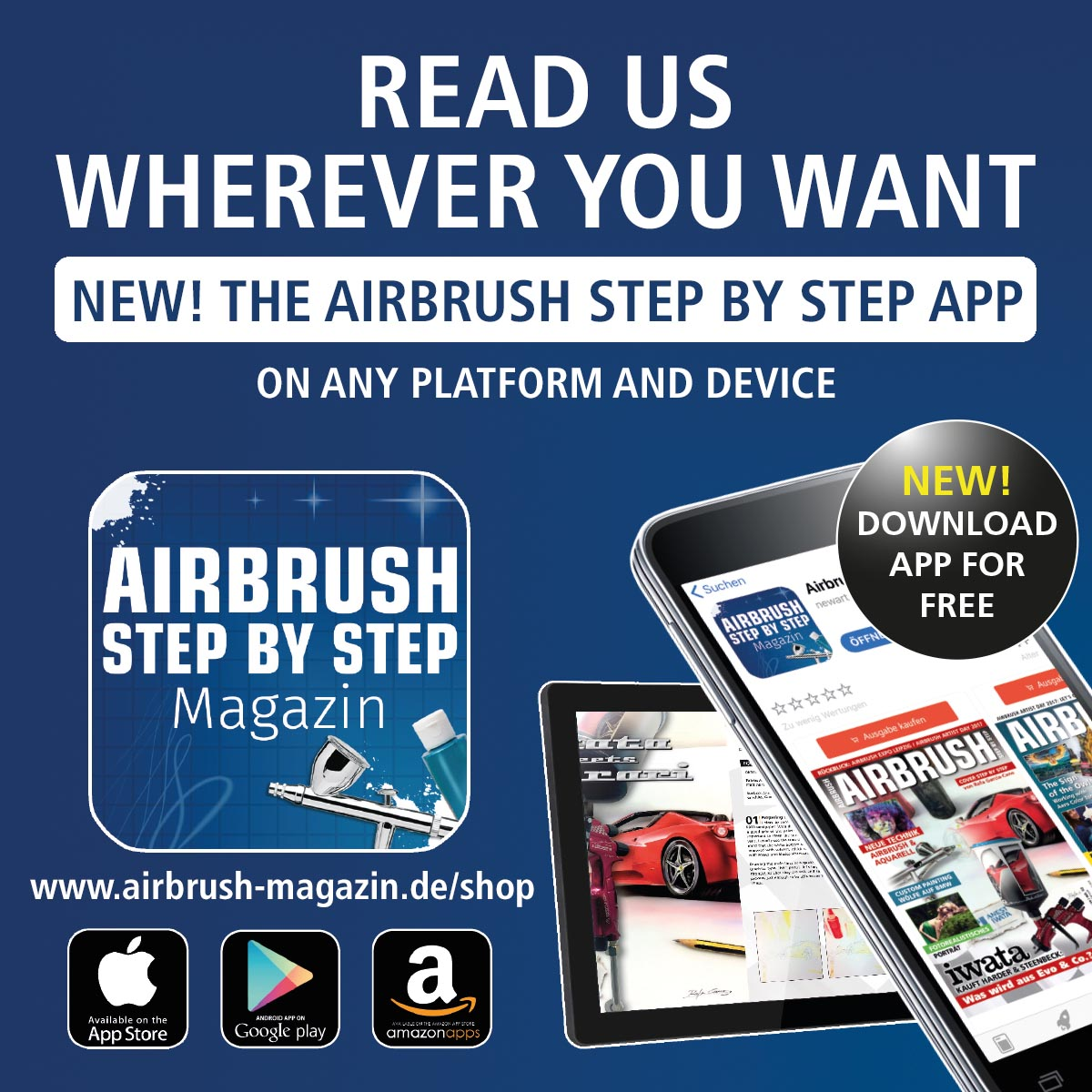 Download now: The new Airbrush Step by Step app