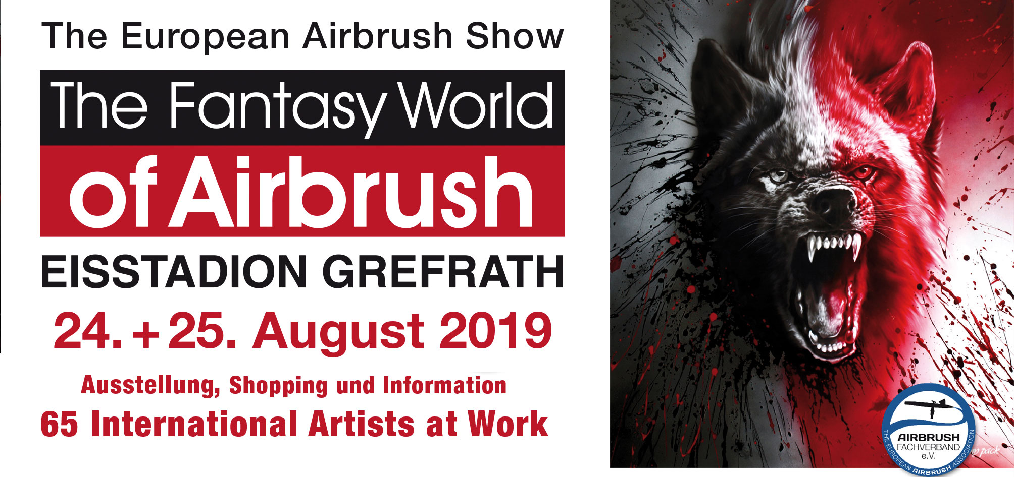 The Fantasy World of Airbrush 2019