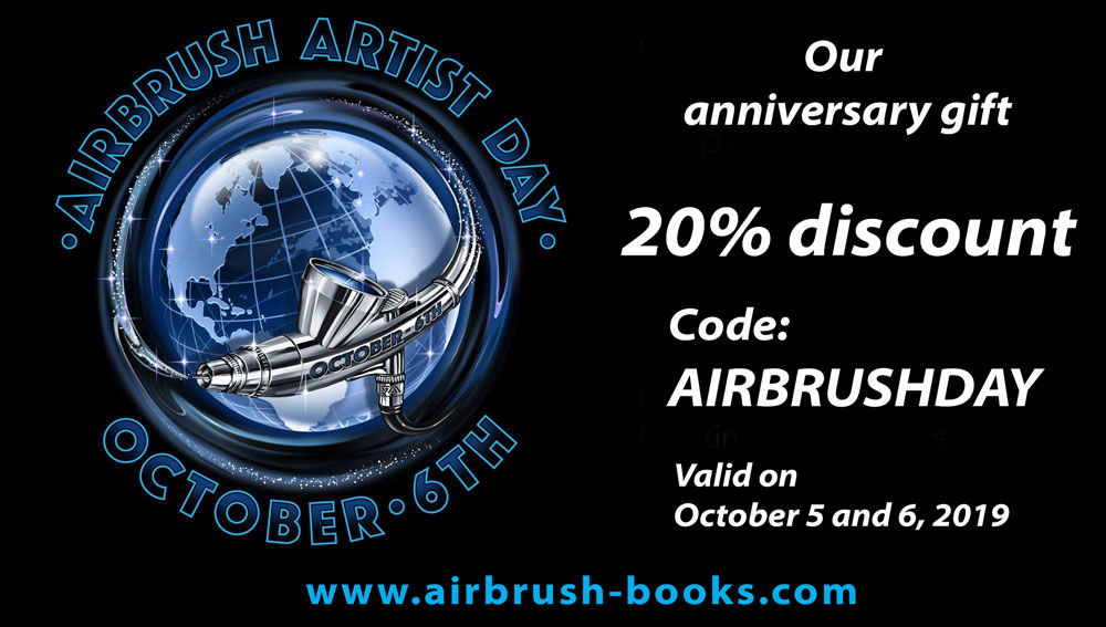 Happy Airbrush Artist Day!