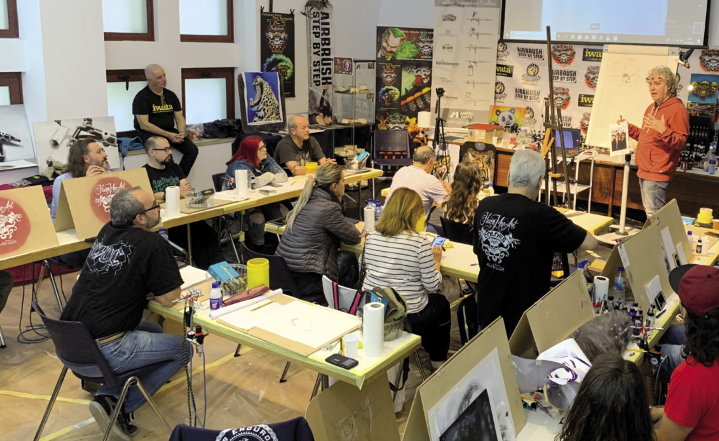 European-South American Rendezvous in Spain's First Ever International Airbrush Event