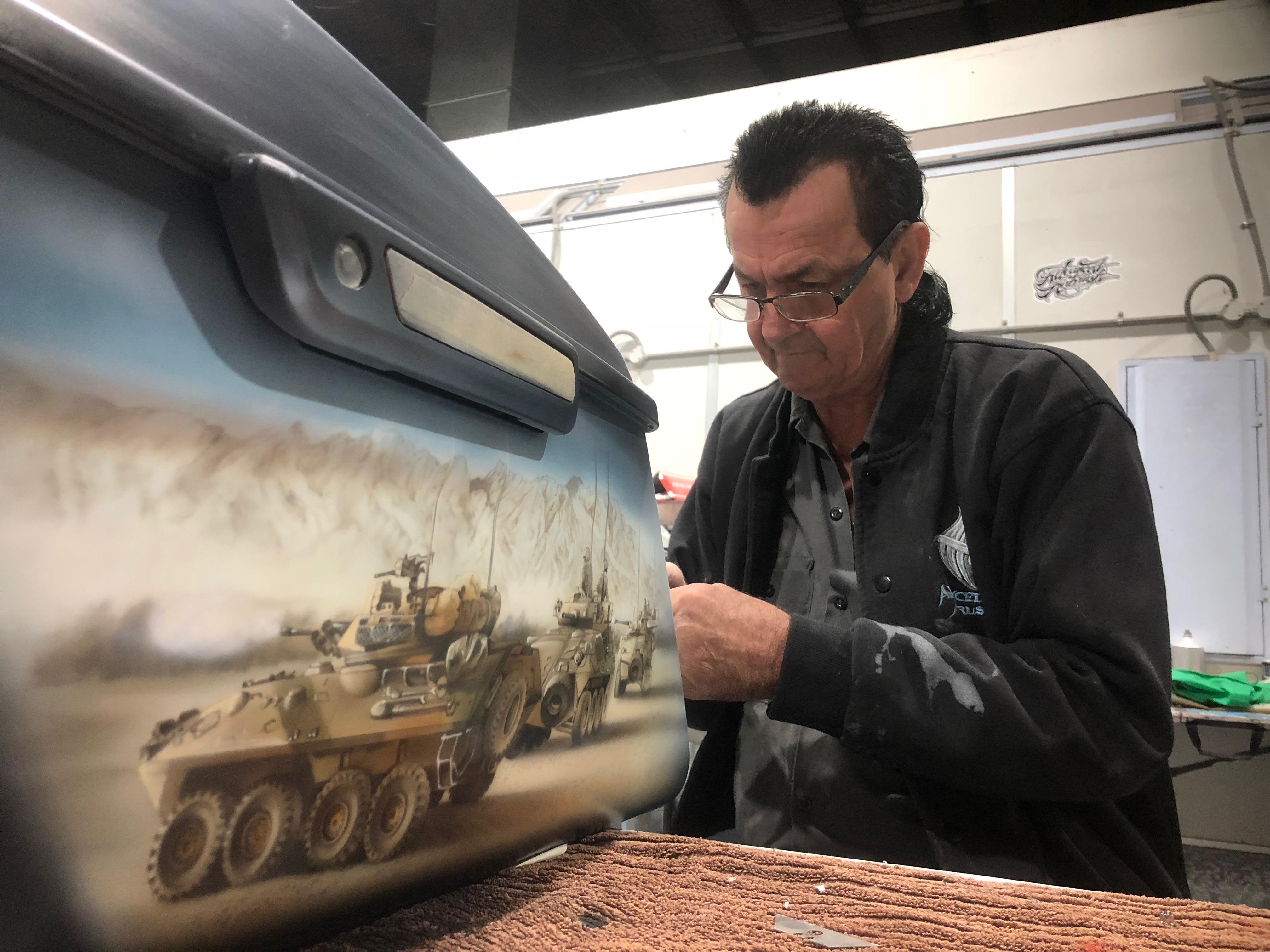 Wayne Harrison – the Australian Airbrushing Pioneer