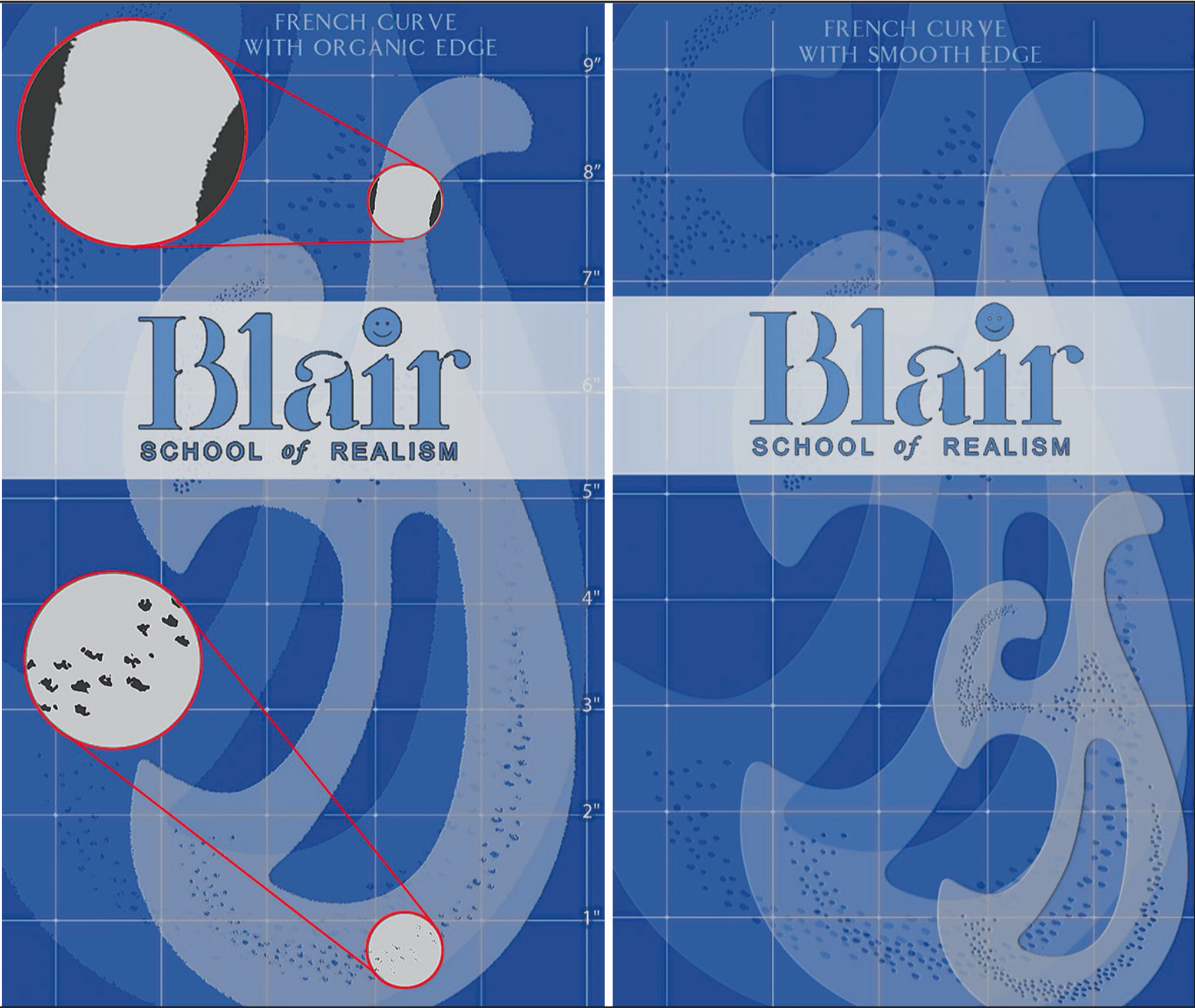 New Dru Blair Stencils: Curve stencils with pizzazz