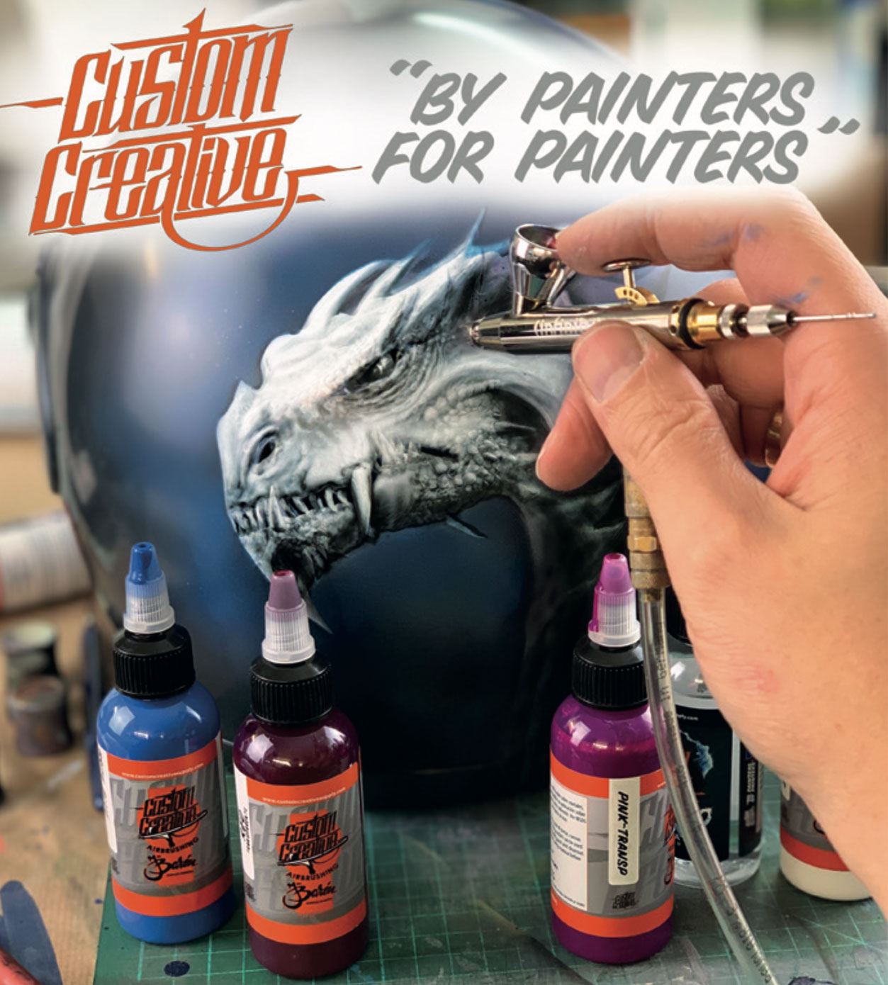 Custom Creative: Water-based Airbrush Paints and Lining Tapes from Spain