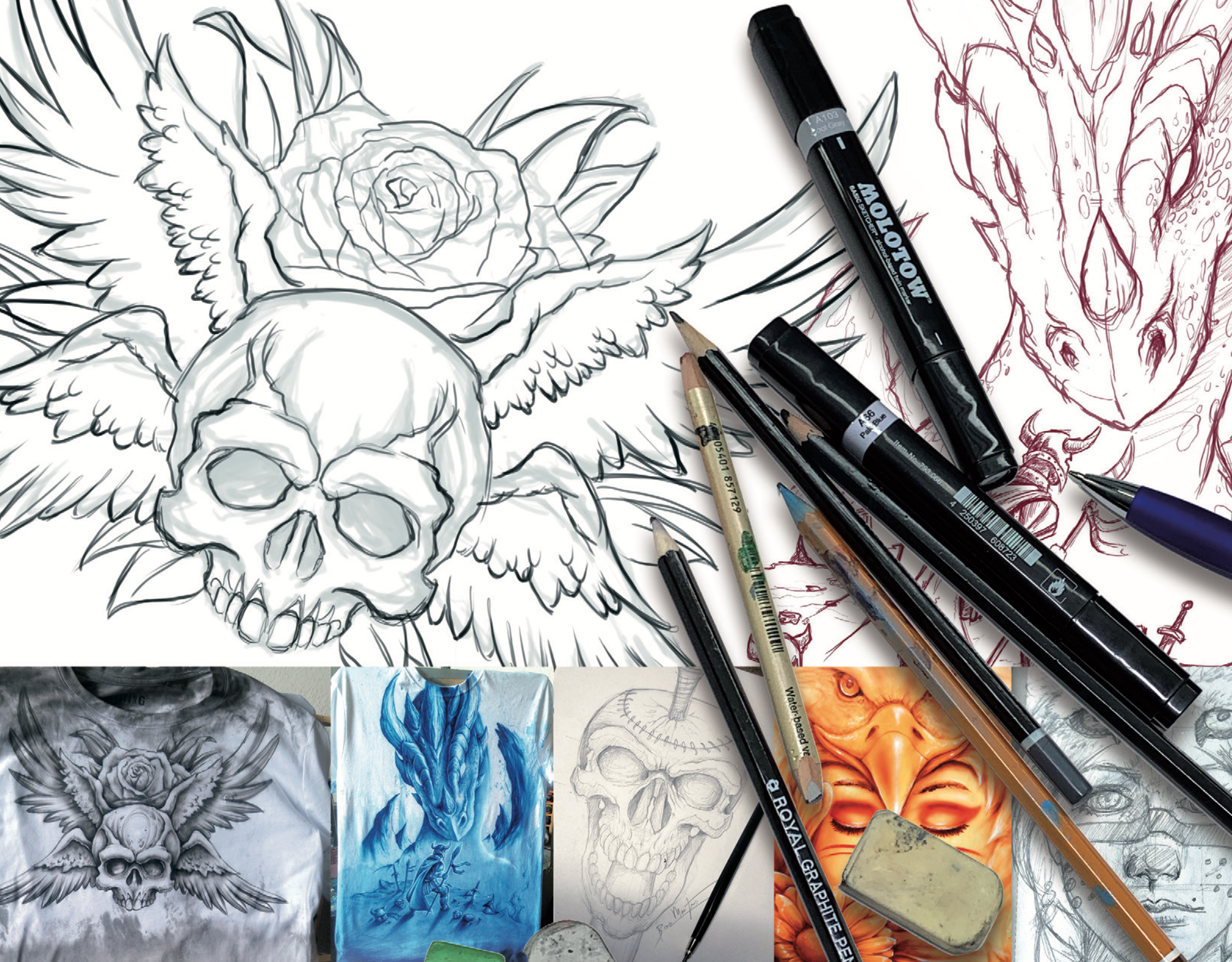 New series: Drawing for Airbrush Artists 101
