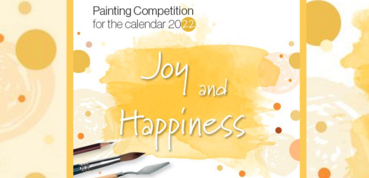 Joy & Happiness – Painting Competition for the Hahnemühle Calendar 2022