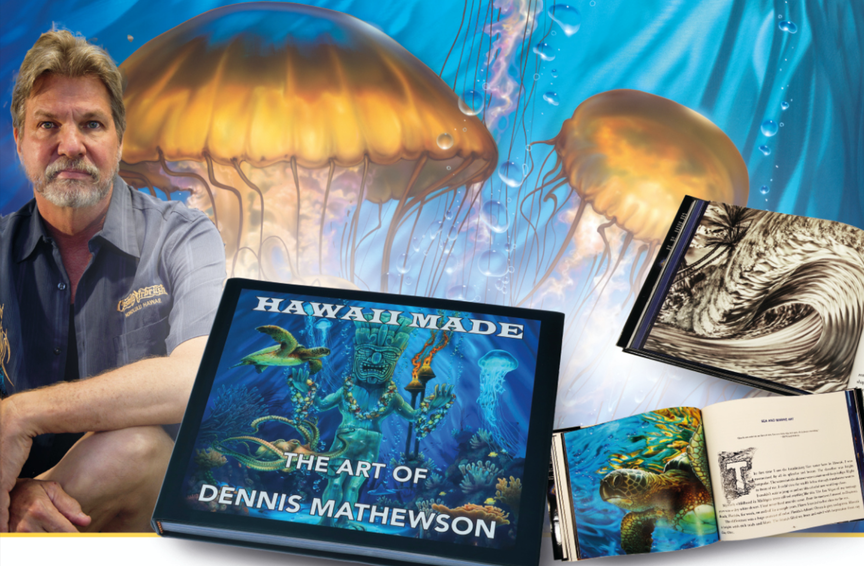 Island paradise on 244 pages: Hawaii Made – The Art of Dennis Mathewson
