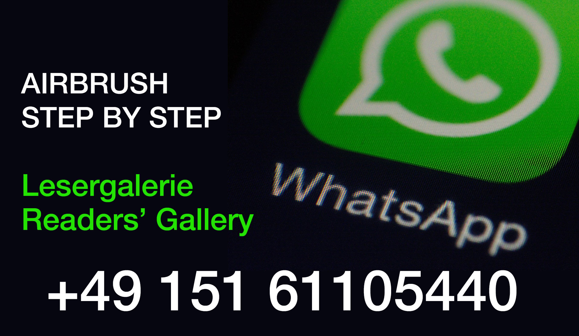 New WhatsApp number for readers' gallery posts