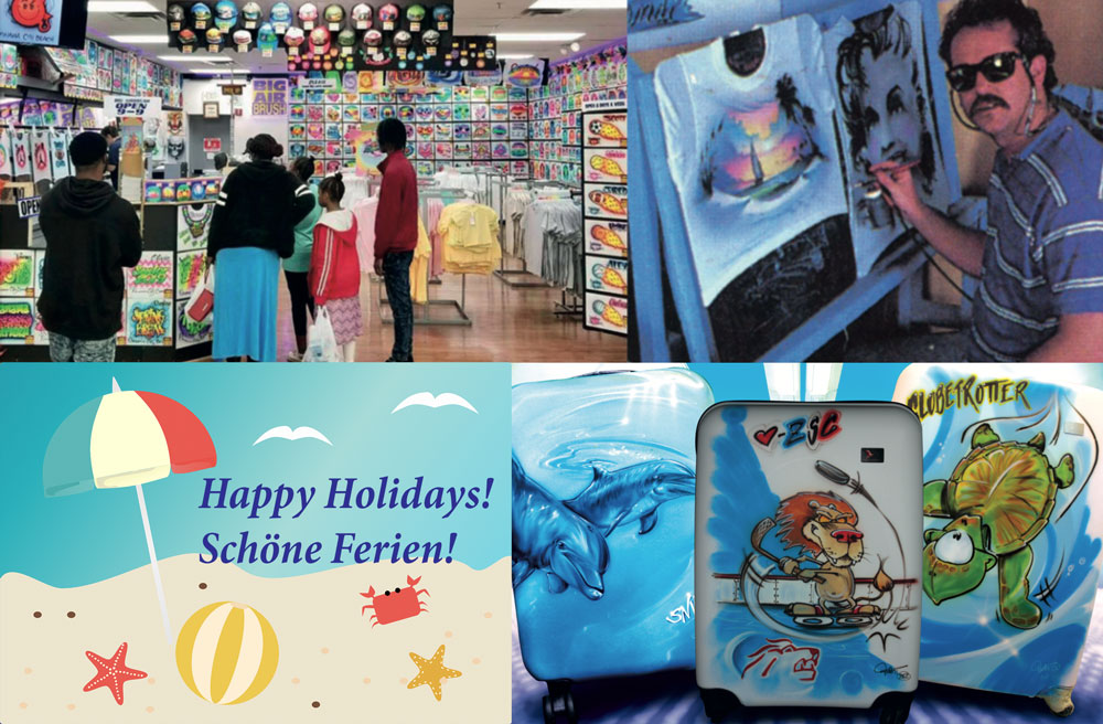 Happy summer holidays with Airbrush Step by Step magazine