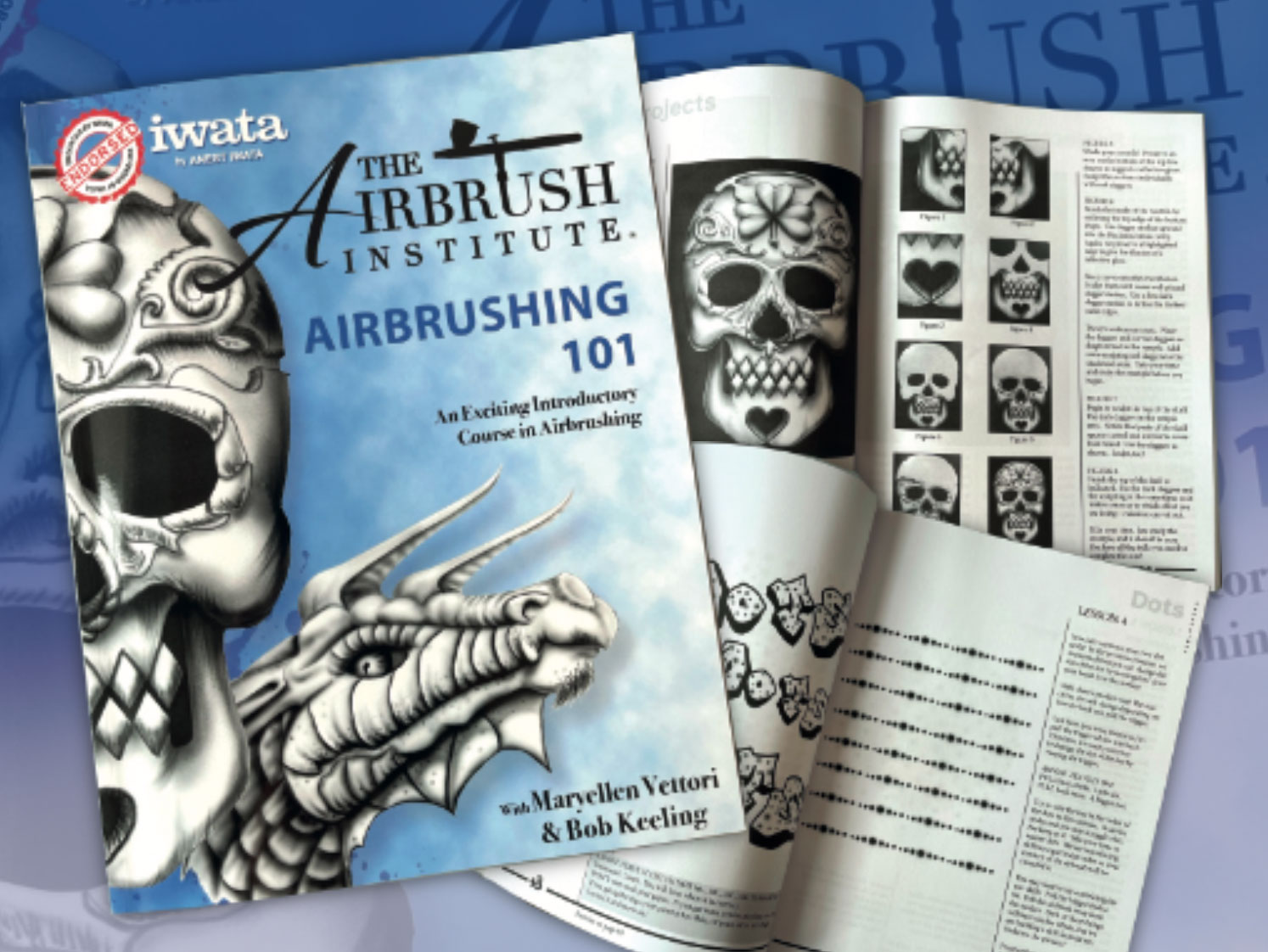 Airbrushing 101: Comprehensive airbrush tutorial book for beginners
